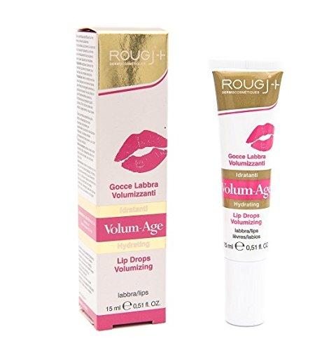 Gouttes à action volumisante pour lèvres