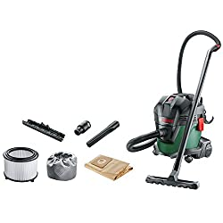 Wet and dry cleaning for a variety of applications Blowing function as well as vacuuming Universal adapter to connect with other Bosch power tools Easy storage on the tool for the hose and accessories