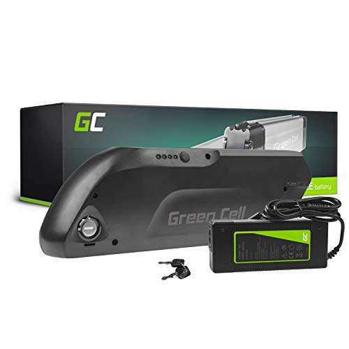 GC® Batteria per Bicicletta Elettrica 48V 12Ah E-BIKE Pedelec Down Tube Li-Ion Caricabatterie Micargi Freway MING Fantic