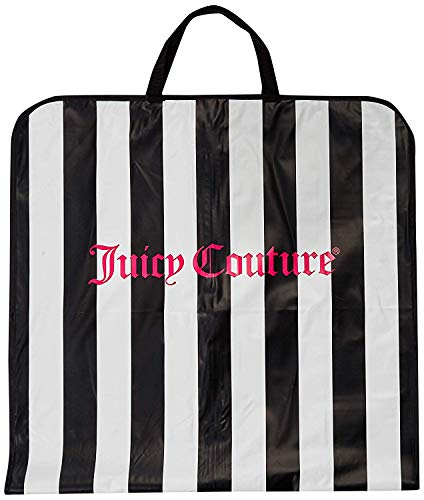 Juicy Couture 49' Foldover Garment Bags with Handles Travel Zip-up Dress, Suit, Gown Carrier Travel Tote