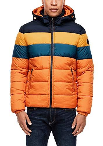 s.Oliver Herren 28.910.51.9100 Jacke, Orange (Persimmon 2375), X-Large (Herstellergröße: XL)