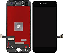 G&R New Black LCD screeen Replacement Compatible with iPhone 7 4.7