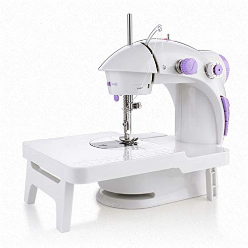 LIUPENGWEI Portable Electric Sewing Machine, Heavy Duty Sew Machine, Automatic Needle Threader and Free Arm, Led Sewing Light, Best Sewing Machine for Beginners Embroidery Machine (Size : American)