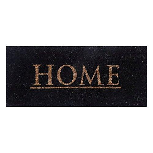 Aramis - Felpudo 30x70 Home Black c10