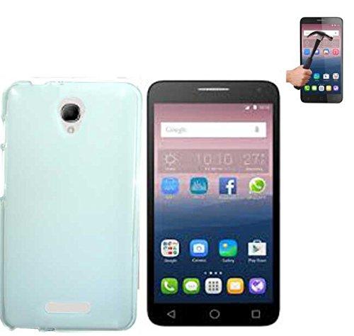Todobarato24h Funda TPU Lisa ALCATEL One Touch Pop 4 Plus Blanca +...