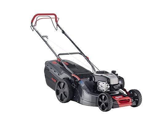 AL-KO Benzin-Rasenmäher Comfort 51.0 SP-B (51 cm Schnittbreite, 2.3 kW Motorleistung, Robustes Stahlblechgehäuse, Hinterradantrieb, Mulchfunktion, für Rasenflächen bis 1800 m²)