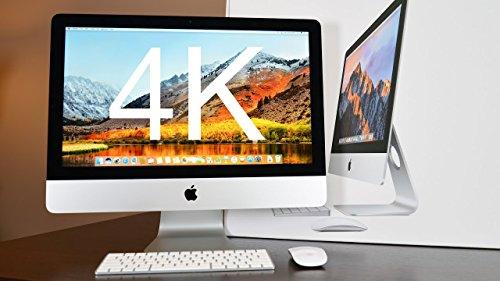 Apple iMac 4k / 21,5 pollici / Intel Core i5, 3,1 GHz / 4 core / RAM 8GB / 1000GB HDD/ MK452LL/A / tastiera italiana (Ricondizionato)