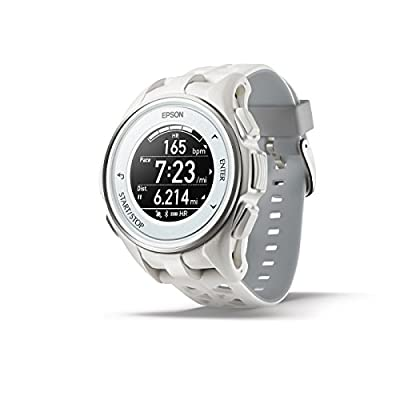 Epson ProSense 307 GPS Multisport Watch with Heart Rate and EasyView Display
