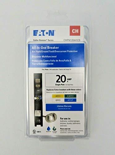 1 Pc of All-in-One Breaker 20A Single-Pole Circuit Breaker CHFN120A1CS New