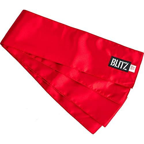 Blitz Kung Fu - Emblema para cinturón de Artes Marciales, Color Rojo
