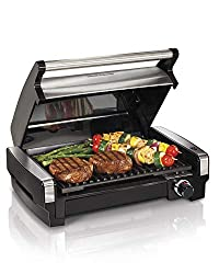 Hamilton Beach 25360 Electric Smokeless Indoor Grill - Best Choice For Indoor Electric Grill