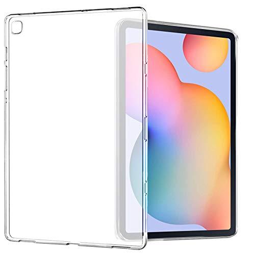Yoowei Funda Compatible con Samsung Galaxy Tab S6 Lite 10.4' 2020(SM-P610/P615), Espalda Translúcida Mate Blanda Flexible Ligera Ultra Delgada Protectora Case per Tab S6 Lite
