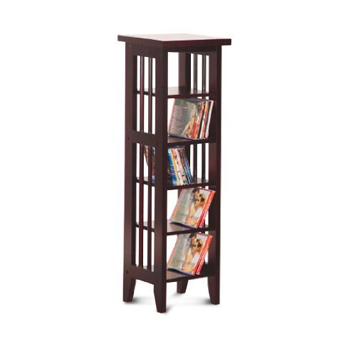 Cd-dvd Rack Espresso Finish