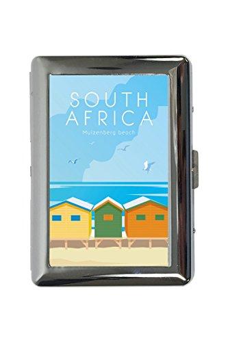 portasigarette in Metallo Vacanza Agenzia Viaggi Sud Africa Stampato