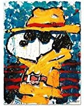 TOM EVERHART signed UNDERCOVER IN BEVERLY HILLS original litho Charles Schulz Peanuts SNOOPY
