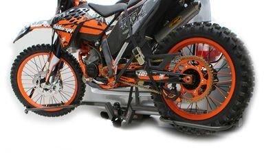 CAR + VAN TOW-BAR RACK FOR MOST MOTOCROSS, ENDURO & TRIAL BIKES 80CC-600CC,...