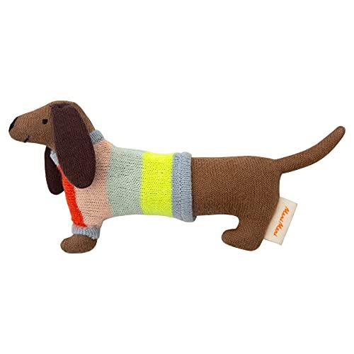Baby Rassel Dackel Hund