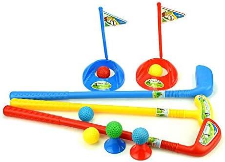 Financial sales sale LoveinDIY Kids Golf Set Plastic Indianapolis Mall Mini Caddy Sum Putter Club Balls