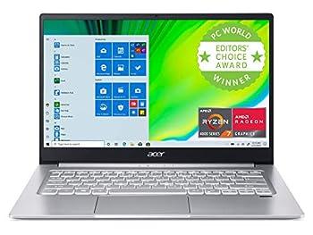 Acer Swift 3 Thin & Light Laptop 14  Full HD IPS AMD Ryzen 7 4700U Octa-Core with Radeon Graphics 8GB LPDDR4 512GB NVMe SSD Wi-Fi 6 Backlit KB Fingerprint Reader Alexa Built-in