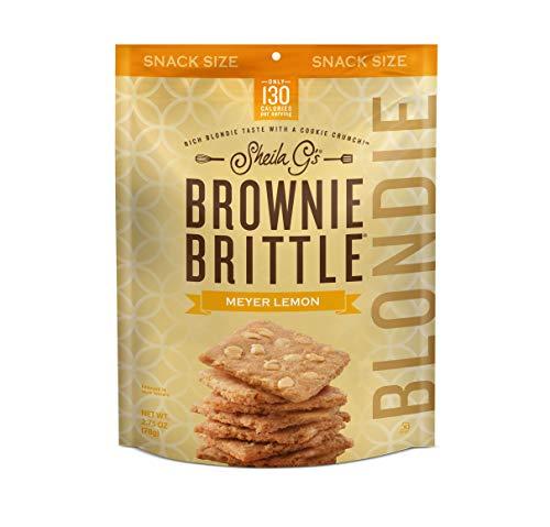 Sheila G's Brownie Brittle Meyer Lemon Blondie 2.75 oz. (8 count)