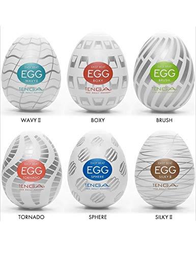 3. Huevos Tenga EGG Pack New Standard | Presión Normal
