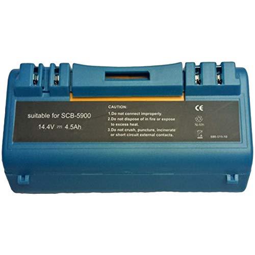 Kaxofang Batteria per Aspirapolvere di Ricambio Ni-MH 14,4 V 4,5 Ah per Scooba 330 340 350 380 385 390 5900 5800 Parti Robotizzate della Batteria