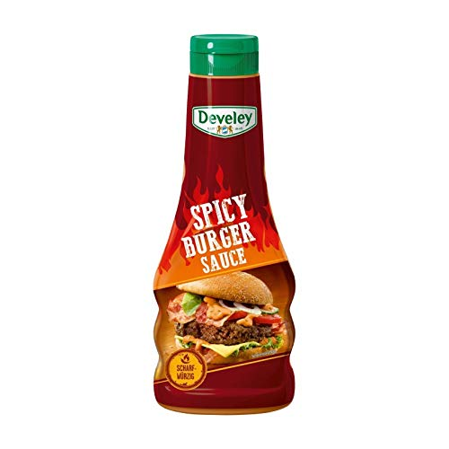 3x Develey - Spicy Burger Sauce 250ml