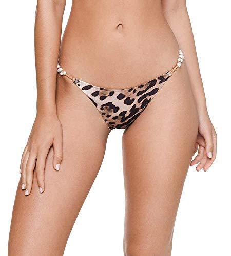 Despi Cheetah Brownie Shelley Bikini Bottom, M