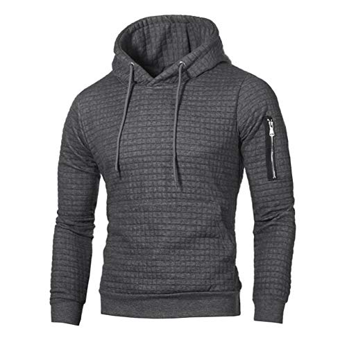 mens pullover solid colors hoodies