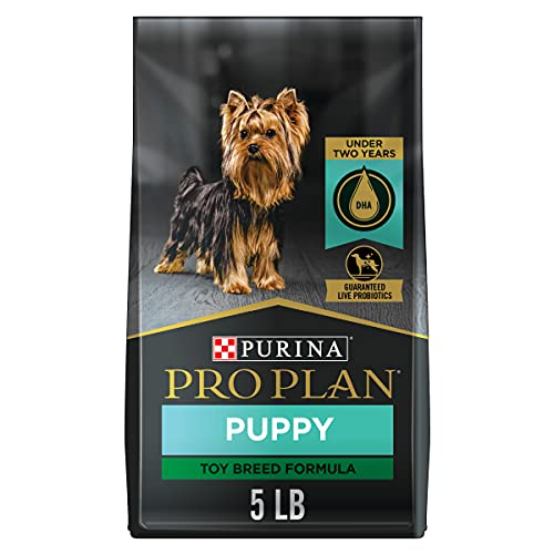 Purina Pro Plan High Protein Toy Breed Puppy Food...