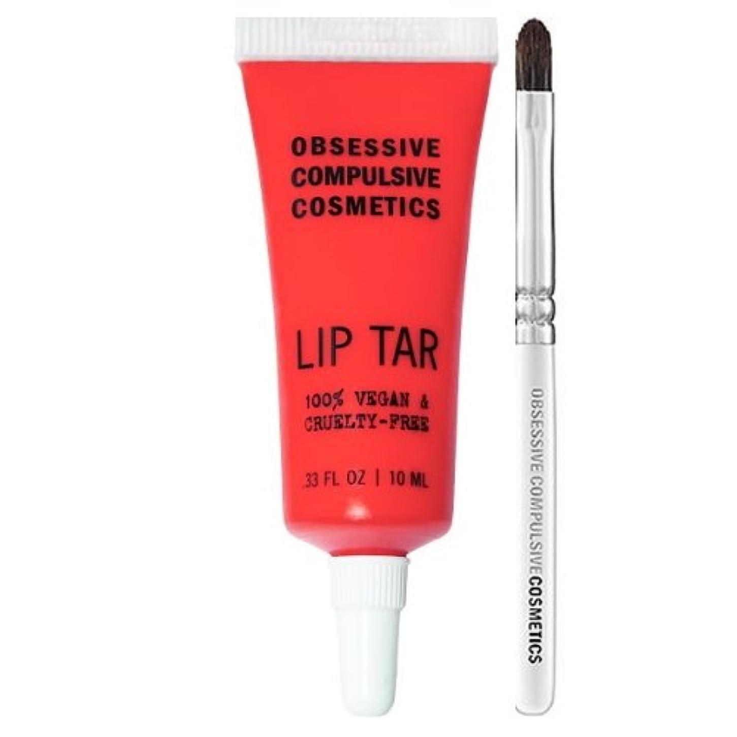 芸術的連結する赤(3 Pack) OBSESSIVE COMPULSIVE COSMETICS Matte Lip Tar - Radiate (並行輸入品)