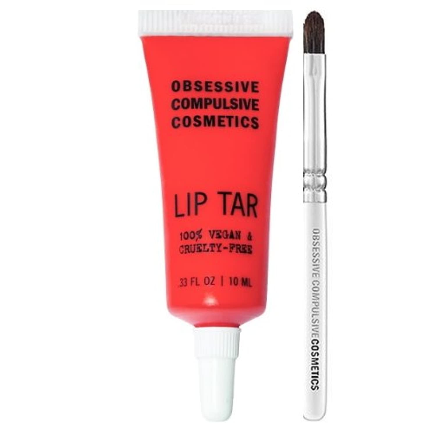 蒸息苦しいラップトップ(3 Pack) OBSESSIVE COMPULSIVE COSMETICS Matte Lip Tar - Radiate (並行輸入品)