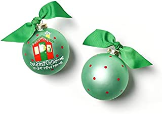 my first christmas ornament 2018