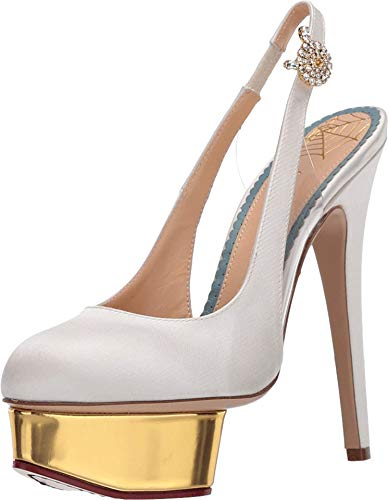 charlotte olympia Dolly Platform Pump Milk 39.5 (US Women's 9.5) M