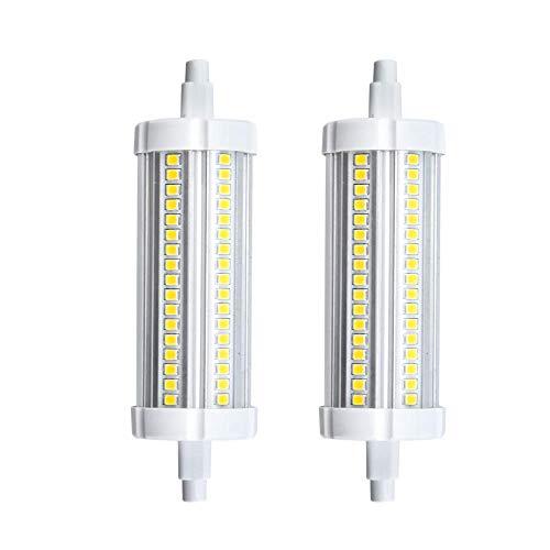 Doright R7S LED Lampe Birne 20W 1800Lumen J Typ J118 Linearlampe Nicht-Dimmbar Kaltweiß 6000K 360° Abstrahlwinkel 200W Stabhalogenbirne gleichwertig (2-Stück)