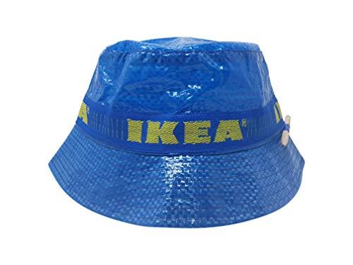 Ikea Fischerhut mit Bleistift, handgefertigter Hut, modische Straßenkleidung, blau