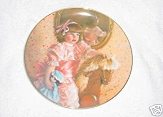 Amys Magic Horse By Sandra Kuck Collector Plate