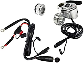 EKLIPES EK1-110 Cobra Chrome Ultimate Motorcycle USB Charging System