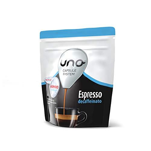 Kimbo Capsule di Caffè Espresso Decaffeinato (Deca),...