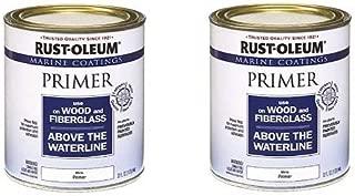 Rust-Oleum 207014 Marine Wood and Fiberglass Primer (2-(Pack))