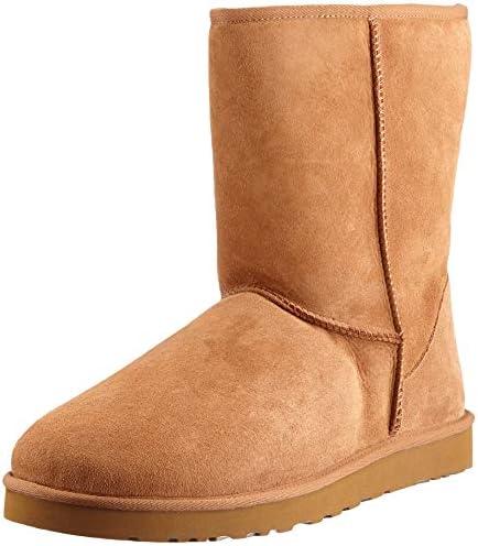 UGG Men s Classic Short Sheepskin Boots Chestnut 8 B M US product image
