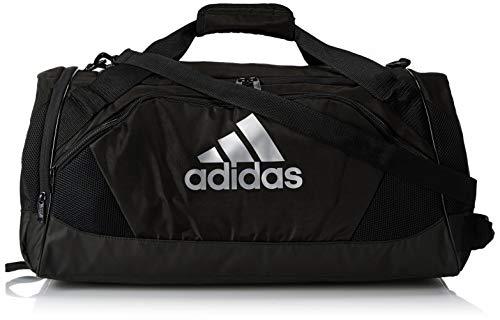 adidas Unisex Team Issue II Medium Duffel Bag, Black, ONE SIZE