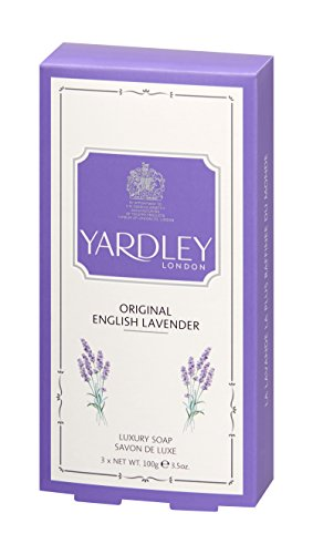 Yardley London Original English Lavender Soap 3 x 100g