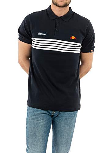 ellesse Vanni Polo Shirt Navy S