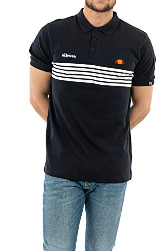 ellesse Vanni Polo Shirt Navy L