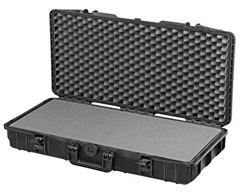 MAX MAX800S Valigetta ermetica, Nero, 800 x 370 x 140 mm