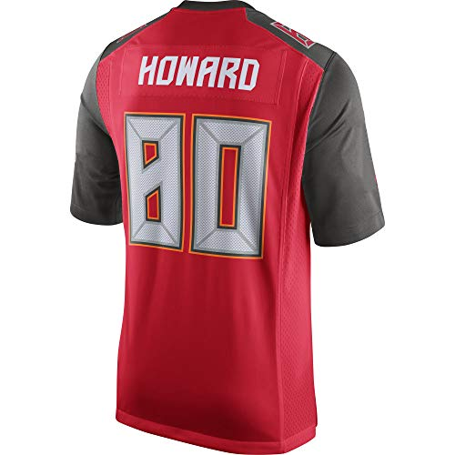 JEMWY Heren/Vrouwen/Jeugd_O.J_Howard_#80_Red_Game_Sportswears_Training_Competition_Jersey