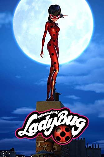 Miraculous: Tales of Ladybug & Amp;Cat Noir TV Show Posters, Puzzles de Madera para Adultos de 1000 Piezas, Puzzles para Adultos y Adolescentes, Regalo para Toda la Familia