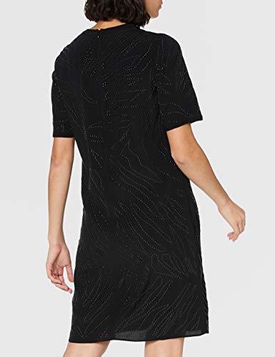 BOSS C_Delight 10232453 01 Vestido, Negro1, 44 para Mujer