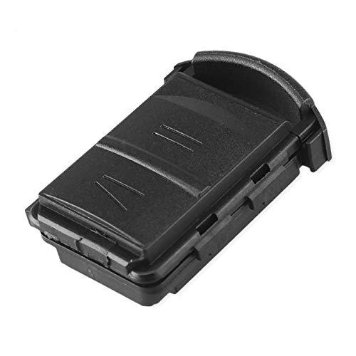 Car-Styling Funda de Llave de Coche de Repuesto para Vauxhall Opel Corsa Agila Meriva Combo Cover Key Shell con Soporte de batería